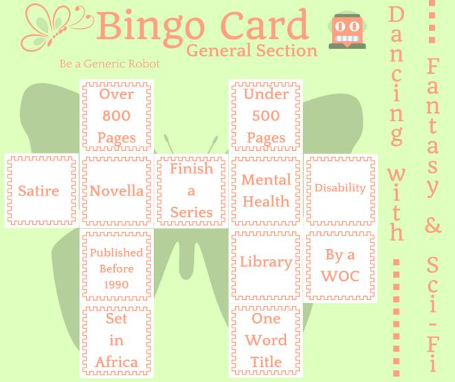 bingo card general