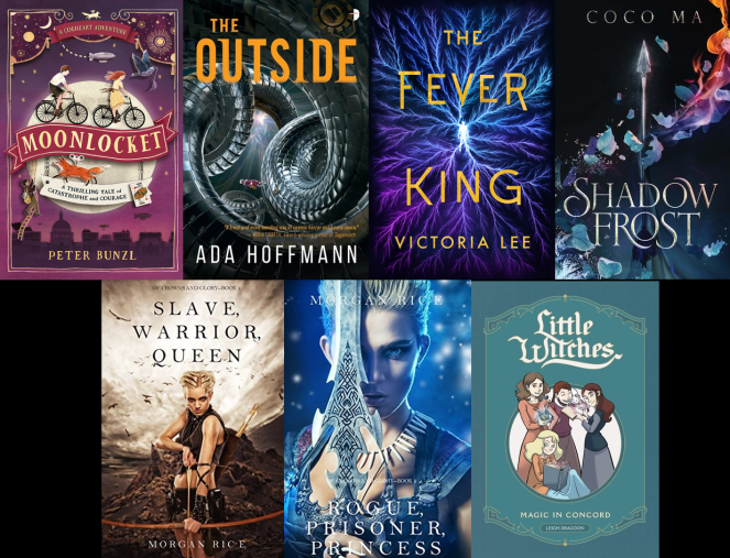 2019 march april ebook haul