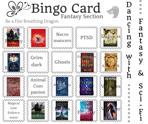 Kopie van fantasy bingo card